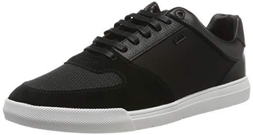 BOSS Herren Cosmo_Tenn_mx Sneaker, Schwarz (Black 1), 40 EU