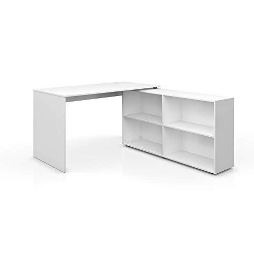 Vicco Eckschreibtisch FlexPlus Schreibtisch Computertisch PC Bürotisch Büro Winkelschreibtisch 90-180° / 137 x 75 cm /