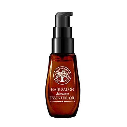 Huile marocaine Hydrater Améliorer les cheveux abîmés et secs Réparer l'huile essentielle de soin capillaire teinté Perm