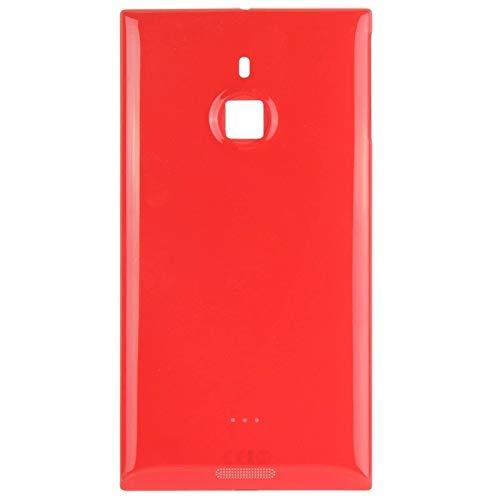 Beilaishi Back Cover for Nokia Lumia 1520 (Nero) Guscio Posteriore Corrispondenza (Color : Red)