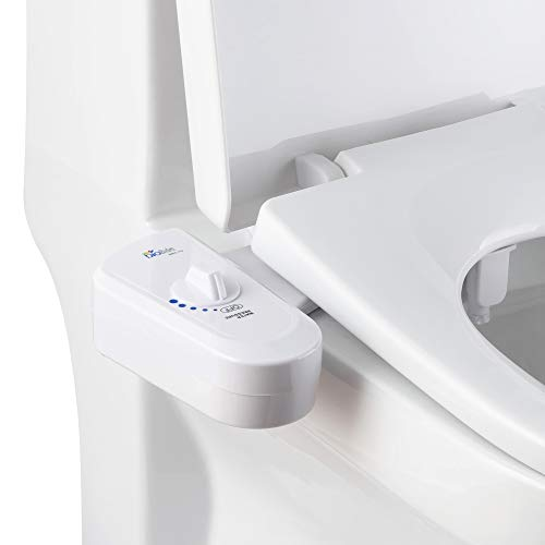 BioBidet BB-70 Fresh Spray Non-Electric Bidet Toilet Seat Attachment,...