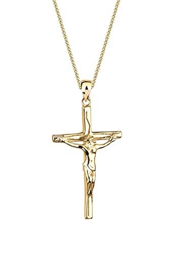Elli Halskette Damen Kreuz Anhänger Elegant aus 925 Sterling Silber