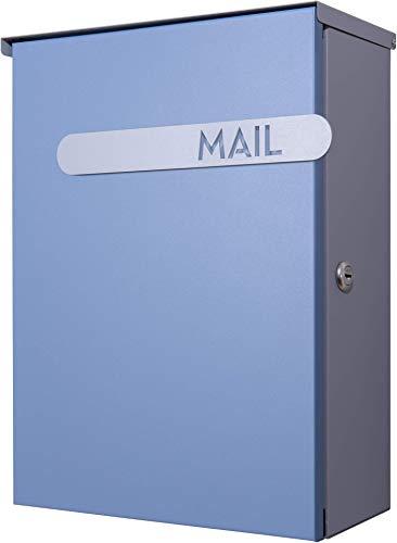 カバポスト(Cabapost) 郵便ポスト 大型ポスト 鍵 回覧板 レターパック 角1対応 壁掛け ポスト郵便受け