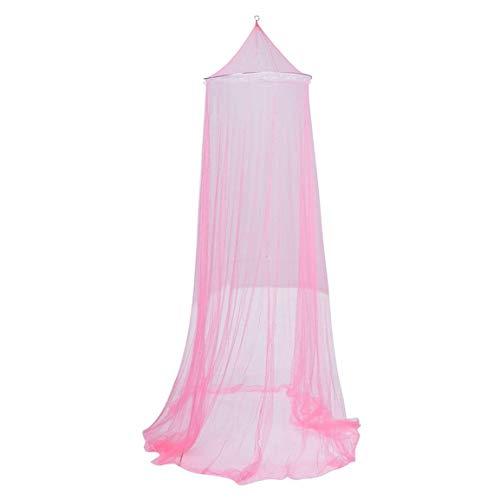 Sommer Baldachin Moskitonetz Atmungsaktive Kinder Kinder Bettwäsche Moskitonetz Baby Mädchen Bettdecke Bett Baldachin für Kinder - Pink