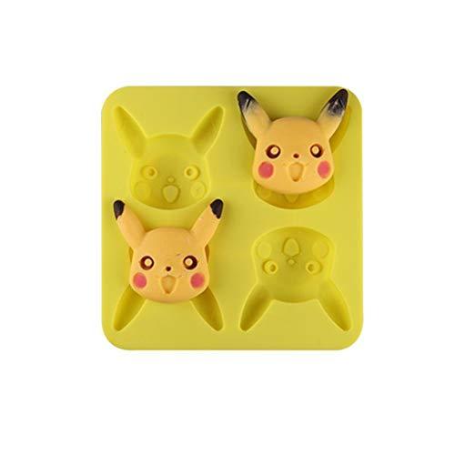 Silicone Pokemon Mousse ice cube tray