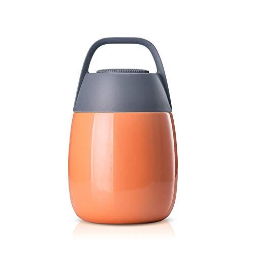 FUFONG Thermobehälter für Essen heiß und kalt für Kinder & Erwachsene Thermos Stainless Geeignet für Studenten Büroangestellte, Ausflüge Camping für 4 Farben 450ml