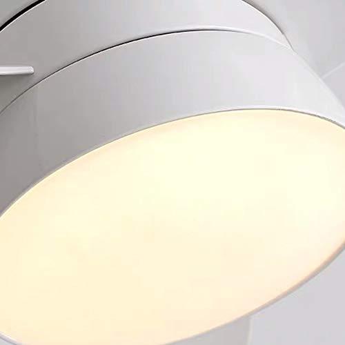 Luce Plafoniera Iluminación Ventilador Ventilador de techo Luz Comedor Sala de estar Dormitorio Nórdico Simple Moderno Salvaje Ventilador Araña