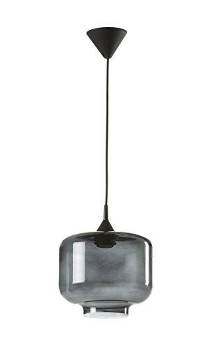 Els Banys Lámpara de Techo Boca 25, Fume, Ø25 x 22 cm