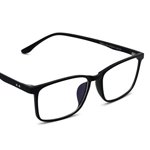 Lumondo PC Brille - Federleichte Computerbrille mit Blaulichtfilter | Gegen Augenmüdigkeit | UV Brille mit natürlichem Farbspektrum | Extrem biegsam