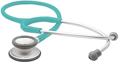 ADC - 619TQ Adscope Lite 619 Ultra Lightweight Clinician Stethoscope with Tunable AFD Technology, Turquoise