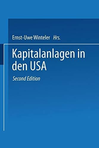 Kapitalanlagen in den Usa