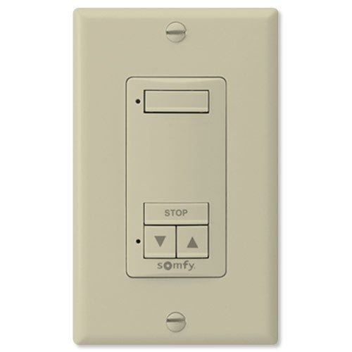 Somfy so181089X -so1810898Decoflex RTS sin interruptor de pared & # 44; 1canal & # 44; Color Marfil