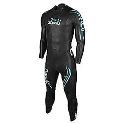 ZAOSU Herren Neoprenanzug Racing 2.0 | Flexibler Openwater Triathlon Wetsuit fürs Freiwasser Schwimmen und Wettkämpfe, Größe:ML