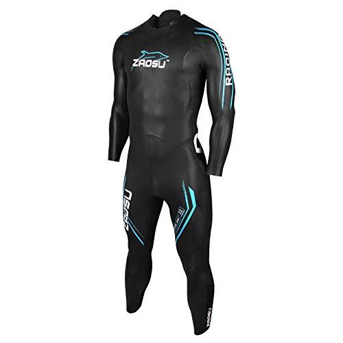 ZAOSU Herren Neoprenanzug Racing 2.0 | Flexibler Openwater Triathlon Wetsuit fürs Freiwasser Schwimmen und Wettkämpfe, Größe:ST