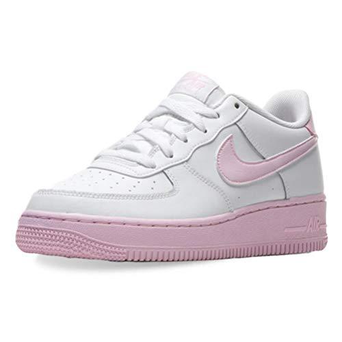 Nike Force 1 (PS), Zapatillas de básquetbol para Niños, White Pink Foam, 31 EU