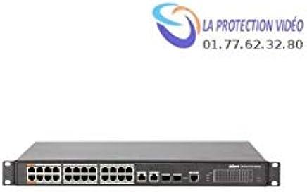 Dahua - switch Dahua 24 ports PoE 30W. Port 1-2 60W. budget total 360W.2ports combo Gb RJ - PFS4226-24ET-360 - Trova i prezzi più bassi