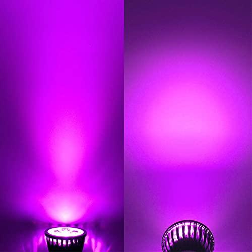 GHC LED Bombillas 5pcs / Lot LED Luces de maíz LED Lámpara Fotlight E12 E14 E27 MR16 GU10 LED Bulbs 6W 9W 12W AC110V 220V Luces de Techo y iluminación (Color emisivo : RGB, Support Dimmer : No)