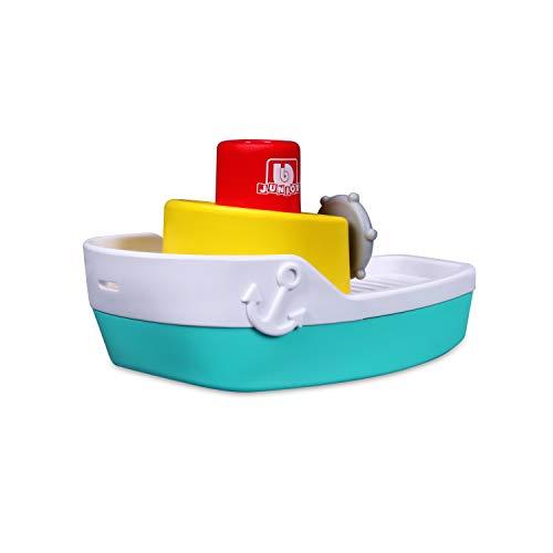 Bauer Spielwaren 16-89003 Spraying Tugboat Spielzeugboot mit Wassersprüh-Funktion, blau