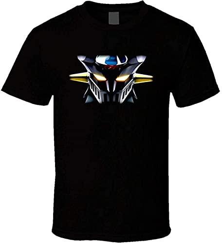 Mazinger Z Anime Mens Print Short Sleeve T-Shirt Cool tee
