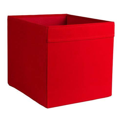 Generisch IKEA Dröna Aufbewahrungsbox für Kallax Regale Box Fach Kiste 33x38x33 cm (Rot)