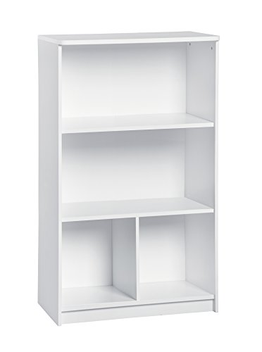 ClosetMaid 1497 KidSpace 3-Tier Vertical Storage Shelf, White
