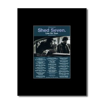 Music Ad World SHED SEVEN - UK Tour 1998 Mini Poster - 13.5x10cm