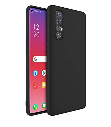 Cassby Pudding Back Cover Matte Thin Case for Oppo Reno 3 Pro