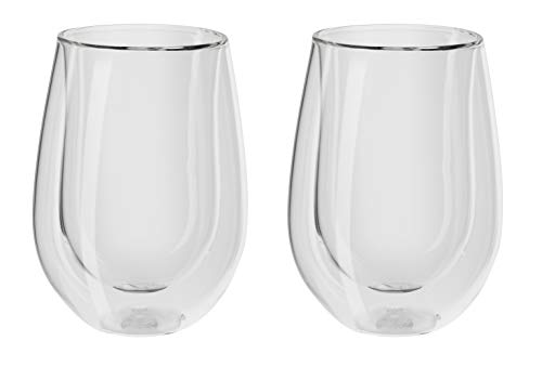 Zwilling® Sorrento Bar Doppelwandiges Glas, Rotwein, 350ml, 2-er Set