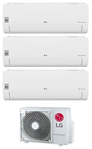 Climatizzatore Trial Split Inverter 7000+9000+12000 Btu Classe A+++/A+ Gas R32 MU3R19 UE0 Serie Libero