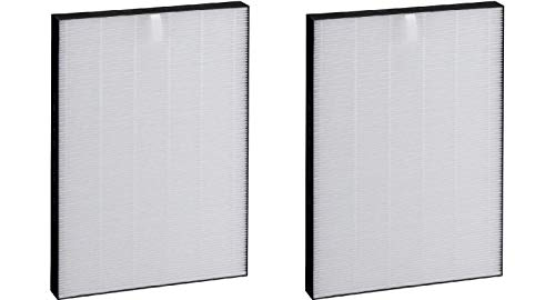 Nispira Premium True HEPA Filter Replacement Compatible with Sharp Air Purifier KC-850U, Compared to Part FZ-C100HFU, 2 Filters