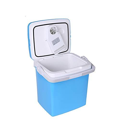 MSG ZY Mini-koelkast, 26 liter, compact, gekoeld, energiebesparend en energiebesparend, laag verbruik, auto-koelkast in de open lucht