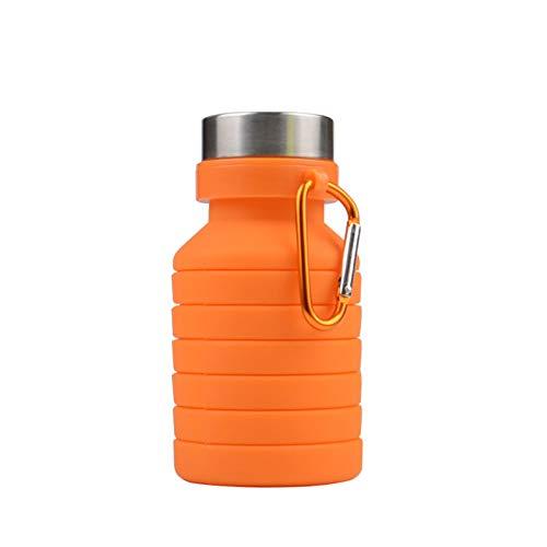 CGMZN Wasserglasbeutel 550 ml de silice Pliable créatif bouteille D'eau Voyage alpinisme Portable vélo Cyclisme Tasse vélo Tasse D'eau