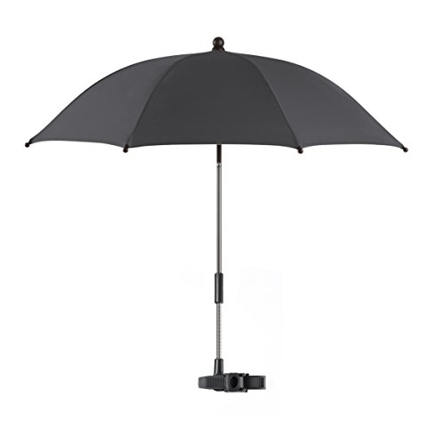 Reer 72152 ShineSafe Kinderwagen-Sonnenschirm, schwarz