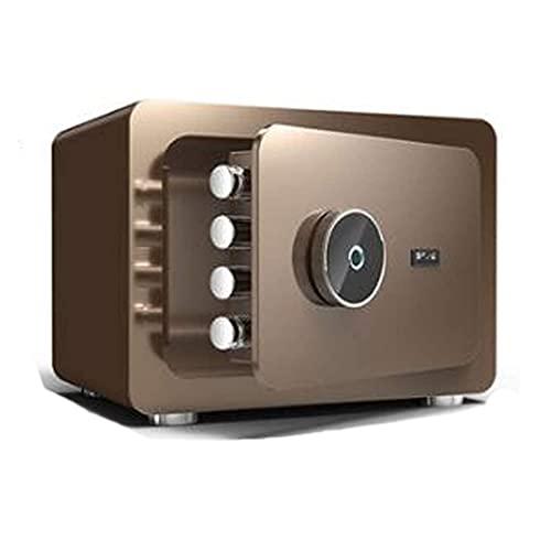 DGHJK Caja Fuerte de Acero para el hogar, Caja Fuerte Digital electrónica de Alta Seguridad, Protege el Dinero, Caja Fuerte para pasaportes para el Hotel de la Oficina en casa