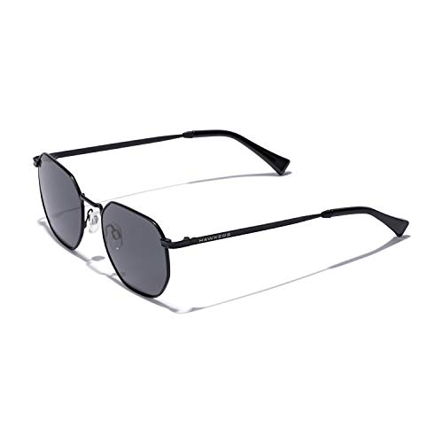 HAWKERS SIXGON Gafas de sol, Negro, One Size Unisex-Adult