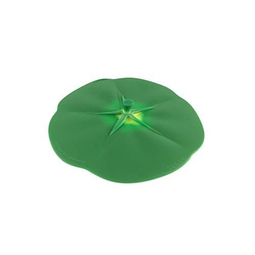 Charles Viancin 9620 Couvercle de Conservation en Silicone, Vert, Ø 22 cm