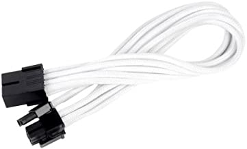 Silverstone Tek Sleeved Extension Power Supply Cable with 1 x 8-Pin to PCI-E 8-Pin Connector (PP07-PCIW)
