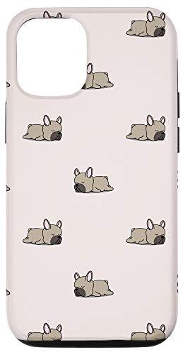 iPhone 12/12 Pro Cute Fawn French Bulldog Case