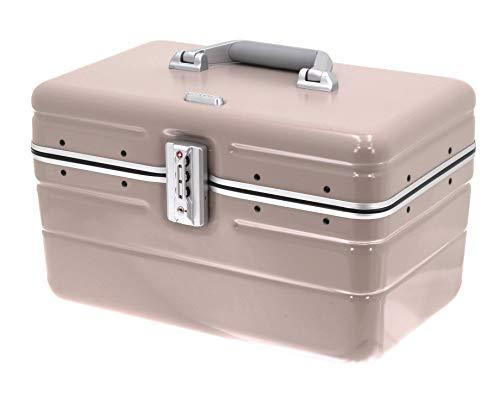 DAVIDT S Beauty Case - Custodia rigida per trolley, 38 x 25 x 26 cm, 1,3 kg, 17 litri, disponibile in diversi colori
