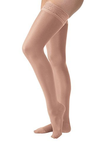 JOBST UltraSheer Thigh High with Lace Top Band 15-20 m High quality OFFicial store Silicone