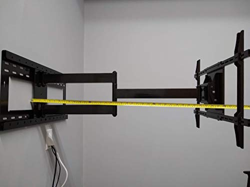 36' Long Extension Smooth Articulating Arm Mount for Samsung LG Sony LED TV 32' to 65'