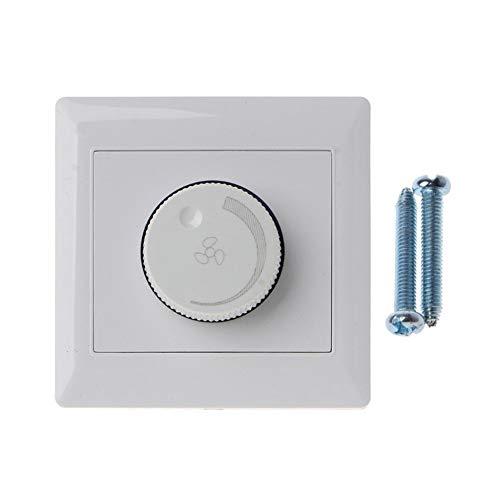 SHENG shengyuan For Adaptarse a 220V 10A Ajuste de Techo Interruptor de Control de Velocidad del Ventilador Interruptor de botón Wall Dimmer