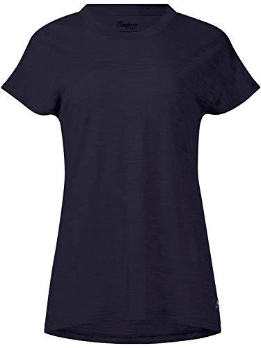 Bergans Oslo Wool - T-Shirt Manches Courtes Femme - Bleu Modèle S 2019 Tshirt Manches Courtes