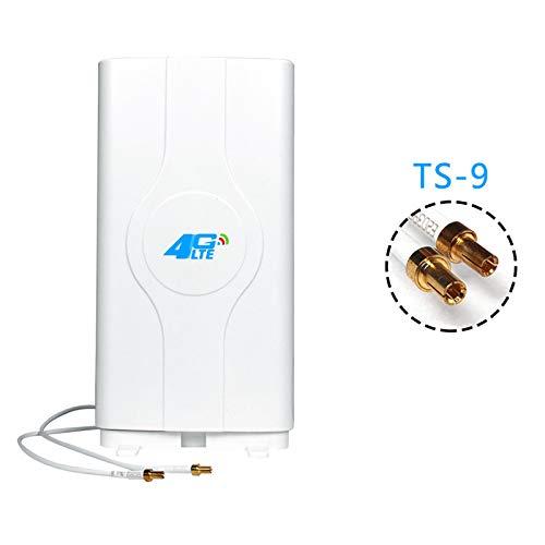 Iycorish 4G LTE Crc9 antenneversterker 4G voor B310, B593, E5186, B315, E5172 en ga zo maar door, TS-9, Regulable
