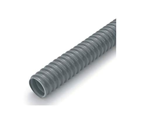 Preisvergleich Produktbild REHAU 10764901025 - Spiralschlauch,  Grau,  Innendurchmesser 32mm - Rollenlänge 25 m