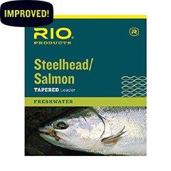 Rio Fishing Products Steelhead/Salmon Leader 9ft 20lb, 3 Pack