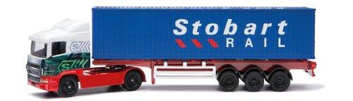 Corgi Toys - CTY86650 - Véhicule Miniature et Circuit - Super Hauler Eddie Stobart Skeletal Container