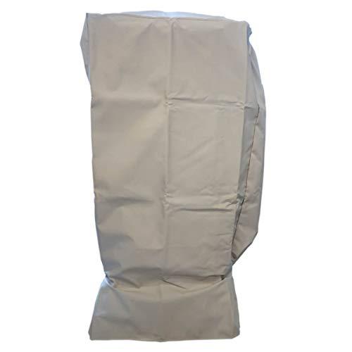 G. Abdeckhaube für Grill Portland XXL von El Fuego®, Schutz vor UV-Strahlung, wasserabweisend, Winterfest, Farbe Beige