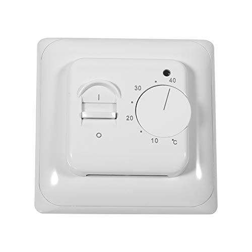 Garosa Piso Mecánico Calefacción Manual Termostato Aire Acondicionado Ahorro de energía Control de Temperatura Pared Zócalo Calentador 230 V de la Pared Interior