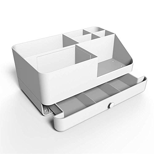 LXYZ Schmuck Aufbewahrungsregal,File Organizer Rack Desktop Bürobedarf Kosmetik Aufbewahrungsbox Nachttisch Schmuck Aufbewahrungsbox Finishing Box für Magazin A4 Papier